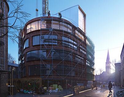 School of Architecture for TMRW Challenge 2018. CGI