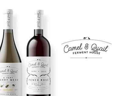 Camel & Quail Branding