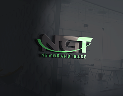 Logo company NGT for import and export