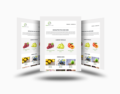 Responsive HTML email template development
