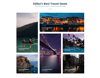 Travel Hill Web Agency PSD Template