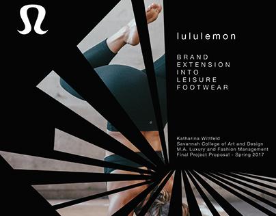 lululemon - Brand Extension into Leisure Footwear