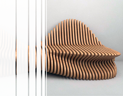 Web concept parametric furniture store