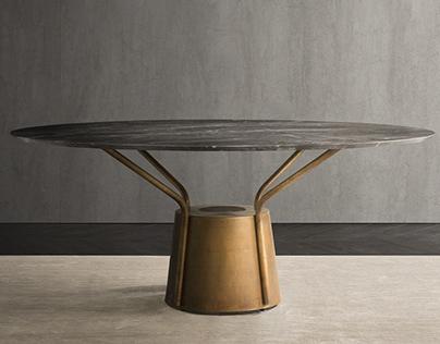 dinner table BALLOON - for Natevo by FLOU
