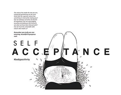 Body Positivity- Social awareness ad campaign