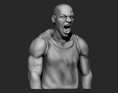 LeBron James Bust - 3D Printing