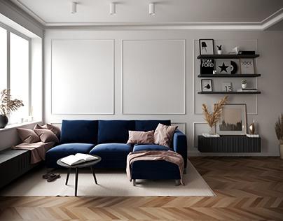 Projekt mieszkania Warszawa
