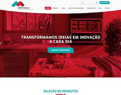 Layout e Desenvolvimento Front-end | METÁVILA