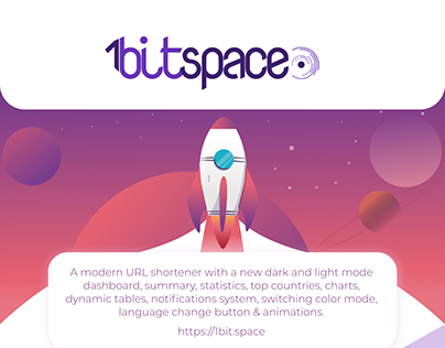 Dashboard UI | UX Design for URL shortener