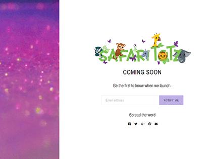 coming soon safaritotz.com