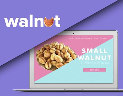 Walnut Product - Landing Page