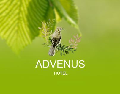 Advenus Hotel Website