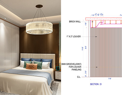 BED ROOM DESIGN & DETAILS