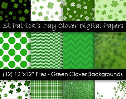 St. Patrick's Day Lucky Shamrock