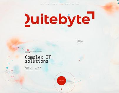 Quitebyte IT company | Website