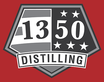1350 Distilling Logo/Brand WIP