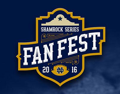 Shamrock Series San Antonio Fan Fest logo design