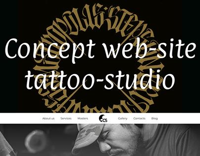 Concept tattoo-studio
