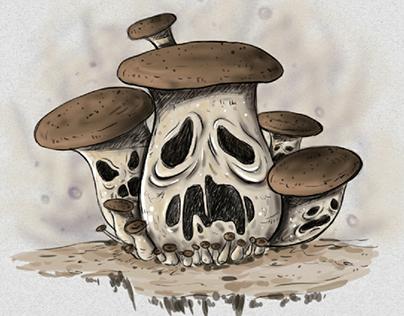 A Monster Inspired from Mushroom