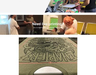 Monti Creative Website