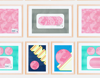 ham of the planet - RISO posters