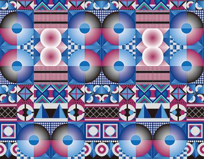 原住民圖紋之美 海報創作 Beauty of Indigenous Pattern Poster Design