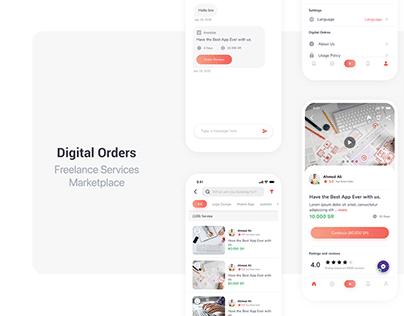 Digital Orders App
