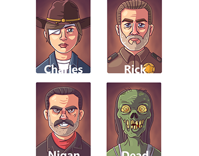Characters of the walking dead