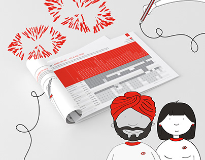 HSBC Layout & Illustration
