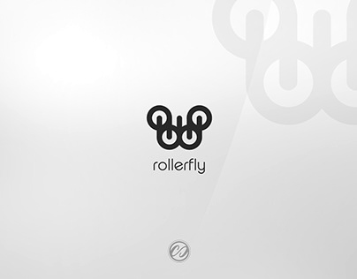ROLLERFLY LOGO DESIGN