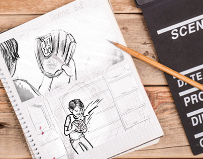 Storyboards and Commercial Concepts