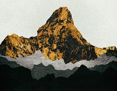 Iconic Mountains Print Series