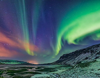 Northern Lights - somewhere on the North Side