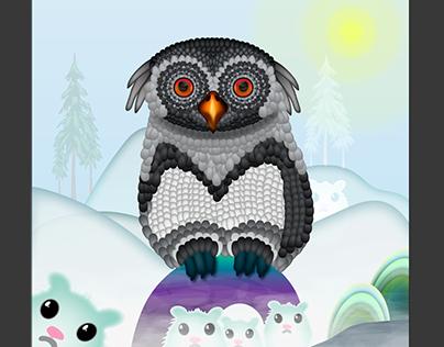 A Winter Owl