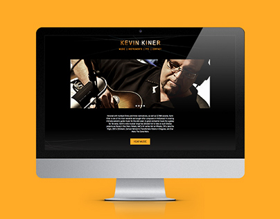 Kevin Kiner Website Redesign