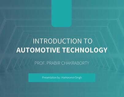Introduction - Automotive Technologies