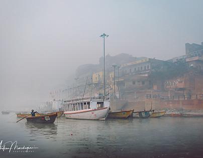 Varanasi, December Mist