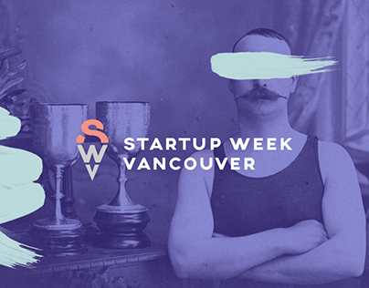 Startup Week Vancouver, Brand Identity & Web Experience