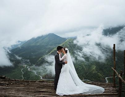 Chụp ảnh cưới tại Hồ Hoàn Kiếm