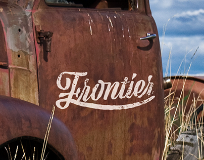 Frontier Landscaping Visual Identity and brand video.