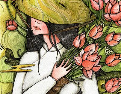 Nàng sen | Lotus-girl