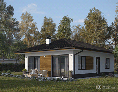 Small house project - Easy 66 m2
