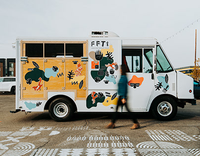Food For Thought Truck @ Studio O+A