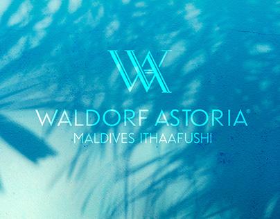Waldorf Astoria Maldives Ithaafushi - Site concept