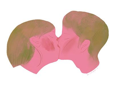 吻 kiss me