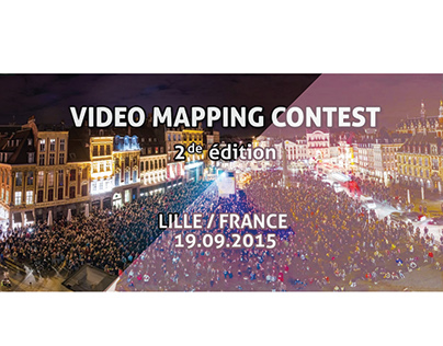 Conflux (Video Maping Contest Lille, France 2015)