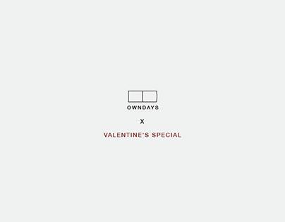 OWNDAYS x Valentine's Special
