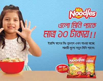 PRAN Mr-Noodles Mini