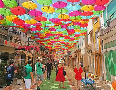 Umbrella Sky Águeda'19