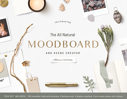 The All Natural Moodboard and Scene Creator